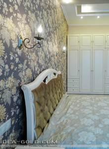 красивая спальная в классическом стиле