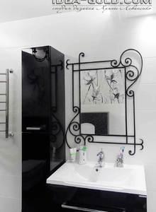 ковка в интерьере ванной
