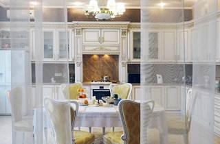 дизайн интерьера кухни, кухня в классике, классический дизайн кухни