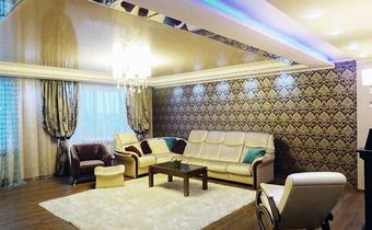 дизайн гостиной, бирюзовая гостиная, современная классика