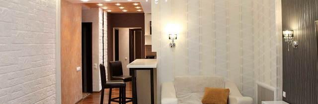 интерьер красивой гостиной