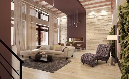 дизайн гостиной, современный стиль интерьера, современная гостиная, 3d панели в интерьере, контрастный интерьер