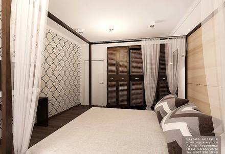 спальная в скандинавском стиле