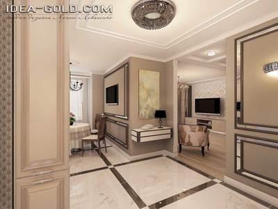 дизайн жк лазурный саратов, дизайн классического интерьера, хрусталь в интерьере, шикарный дизайн саратов, мрамор в интерьере