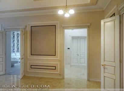красивый интерьер холла классика в саратове, шикарный коридор