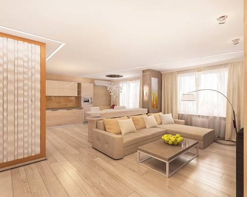 дизайн интерьера светлой гостиной, персиковые цвета в интерьере, светлая гостиная, пастельные цвета в дизайне